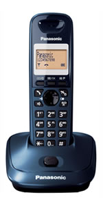 Program CheapCalls.co.uk Access Numbers in Panasonic KX-TG2511/2512/2513